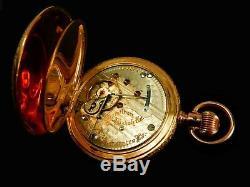 Mega Rare Antique Railroad 21J 18s Hamilton 941 Pocket Watch Serviced Mint