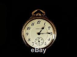 Mega Rare Antique Railroad 21j Hamilton 922 Pocket Watch Salesman Display Case