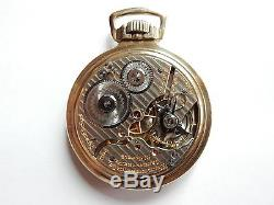 Mega Rare Antique Railroad 21j Hamilton 992 Pocket Watch. Mint Serviced