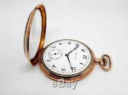Mega Rare Antique Railroad 23j Hamilton 920 Pocket Watch. Mint Serviced