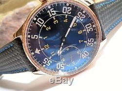 Mint HAMILTON 870 MASTERPIECE 17 J Pocket Watch Converted to Wristwatch