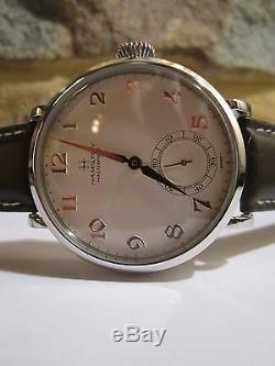 Minty HAMILTON MASTERPIECE 870 17 J Pocket Watch Converted to Wristwatch