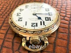 Minty Hamilton 992B Railway Special 16s 21j Railroad Grade Pocket Watch c1940s