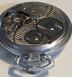 NICE Ball Hamilton 16s 21 Jewel 999P Official Standard Railroad Pocket Watch