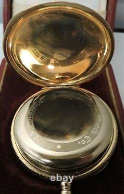 Near Mint 1919 Hamilton 994, 16 Size, 21 Jewel GF Pocket Watch with box 1155446
