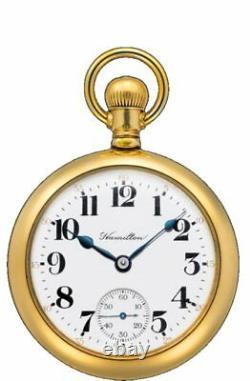 New Hamilton Pocket Limited Edition Men's Watch H51439013 Ship Free Worldwide