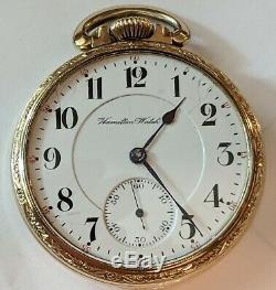 Nice 1905 Hamilton 992 Model 1 Pocket Watch