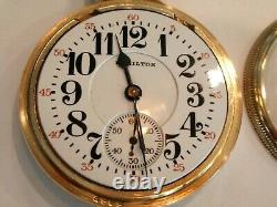 Nice Hamilton 992B Railroad Pocket Watch in 10K GF Case, 21J -Serviced Runs Good