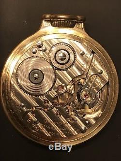 Nice Hamilton 992E Elinvar Railroad Grade Pocket Watch