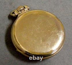 Nice Running Hamilton 992 Railroad Pocket Watch With Great Montgomery Dial