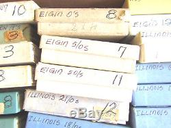 Nos Huge Lot Asst Of Mainsprings Illinois -hamilton-elgin- Arround 250 Total