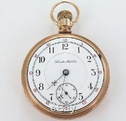 Only 23,507 Made / Low Serial Number / 1894 Hamilton 18s 17j 5 Adj Pocket Watch