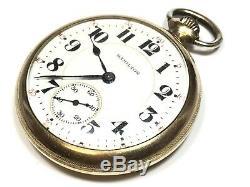 Original Mens HAMILTON 992 16s 21J Pocket Watch