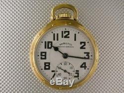 Outstanding Hamilton 992B Railroad Pocket Watch