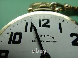 PT17- HAMILTON RAILWAY SPECIAL GRADE 992B, 21J, original GF case, original dial