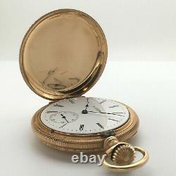 RARE 1900 Hamilton 977 Private Label 16j 16s Pocket Watch 14k Solid Gold Hunter