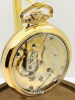 RARE 2 Tone 1904 Hamilton 940 18S 21J Railroad Pocket Watch Salesman Good Runner