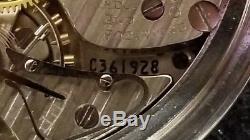 RARE HAMILTON 992B 21J 16sz RAILROAD GREAT ORIGINAL CONDITION 1952