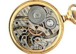 RARE Hamilton S16 Grade 964 17J Pocket Watch With Original Case 340 PRODUCED