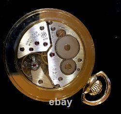 RECENT ESTATE FIND Vintage Hamilton Dupont 17J 870 Pocket Watch RUNS GREAT