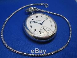 RESTORED SERVICED OVERHAULED 16s Hamilton 974 Antique Pocket Watch c1922