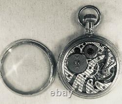 Railroad Grade 1951 23J Hamilton 950B Pocket Watch in a Hamilton Salesman Case