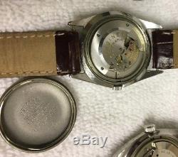 Railroad and Dress Watch Lot Hamilton 992B, Longines, Bucherer, Wittnauer, etc