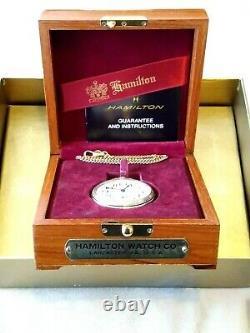 Rare! 16sz Hamilton Limited Edition Railway Special No. 992 pocket watch! #1899