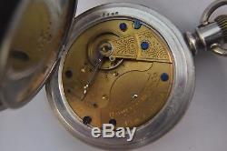 Rare 18S Hamilton 7J Pocket Watch