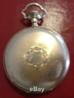 Rare! 1909 Hamilton 950 23J Pendant Set 16s Pocket Watch