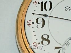 Rare Hamilton 18 Size Model 940 (TWO TONE) Pocket Watch. 50R