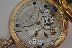 Rare Hamilton 18S 16J Model 933 Pocket Watch
