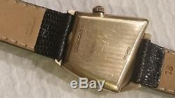 Rare Hamilton Flight 2 Wristwatch 1960s Asymmetrical Space Age Design WOW