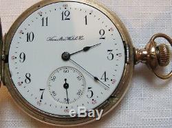 Rare Only 410 Made Hamilton 965 Hunter Rr Pocket Watch