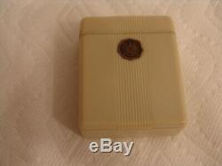 Rare Original Hamilton Pocket Watch Flip up Ivory Box, For 16 size pocket watch