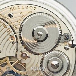 SERVICED 1924 Ball Hamilton 999P 16S 21J Railroad BOC Pocket Watch Very Accurate