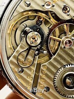SERVICED 1926 Hamilton 992 16S 21J Railroad Pocket Watch Salesman Great Runner