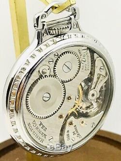 SERVICED Railroad Time 1951 Hamilton 992B 16S 21J SS BOC Railroad Pocket Watch