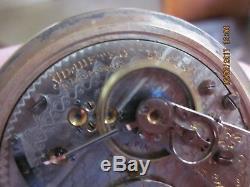 SUPER NICE! Hamilton 21-jewel 18-size grade 940 railroad watch/GF case/running