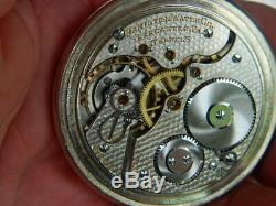 Scarce 16s Hamilton with Rare DMK pattern seldom seen. In a Salesman Case