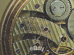 Scarce Hamilton 961-14K Gold RR Grade 16s Pocket Watch 2-STAR RARITY-Minty 109g
