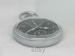 Scarce Hamilton Military Model 23 Chronograph Clean, Original, & Running