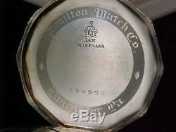 Sharp Vintage Hamilton Caliber 912 In Decagon Case Fancy Dial And Original Box