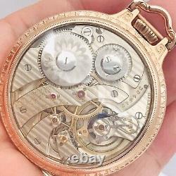 Stunning 1905 Hamilton 960 16S 21J BOC Bar Over Crown Railroad Pocket Watch