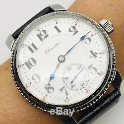 Stunning Hamilton Grade 993 16S 21J Pocket Salesman Wrist Watch Great Runner
