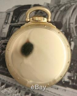 TRIPLE MARKED 1946 SINGLE SUNK DIAL Hamilton 992B CASE MODEL A Pocket Watch