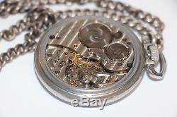 Unusual non military Hamilton 22j 4992b in base metal case running
