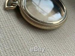 V Hamilton Railroad Mainliner 10k Gold Filled Pocket Watch Case 992 992b 950