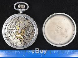 VINTAGE 1940s EARLY WWII HAMILTON MODEL 23 NAVIGATIONAL POCKET WATCH WORKING