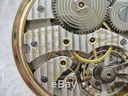 VINTAGE HAMILTON 950B POCKET WATCH 23 JEWEL 16s EXCELLENT RR TIME PIECE